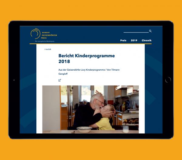 Theresa Duck Webseite Robert Geisendörfer Preis